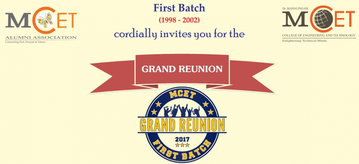 First batch (1998-2002) Grand Reunion