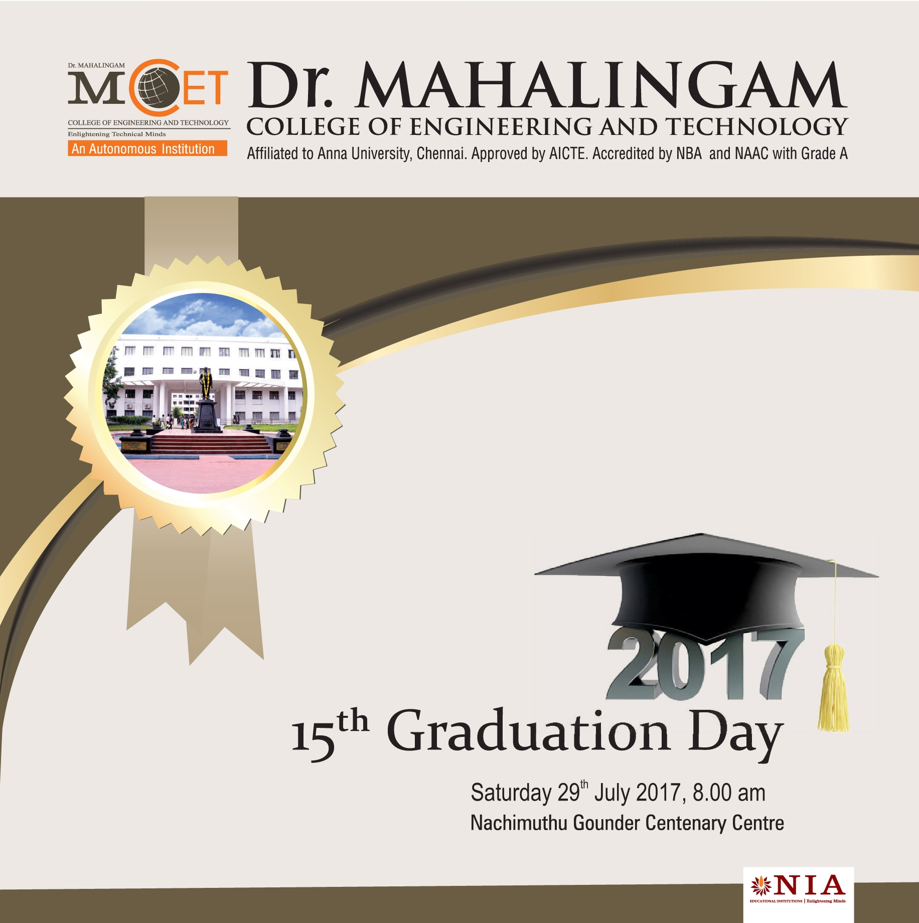 15th Graduation Day